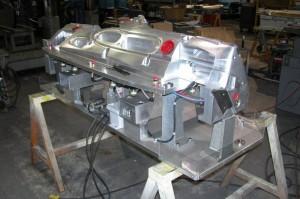 Aluminum Water Jet Trim Fixture